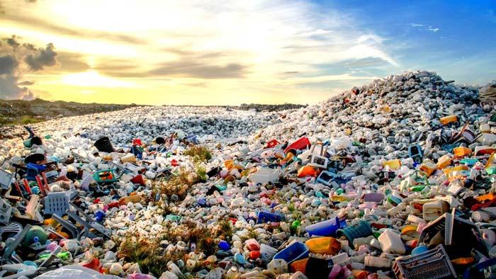 جمع آوری ضایعات پلاستیک