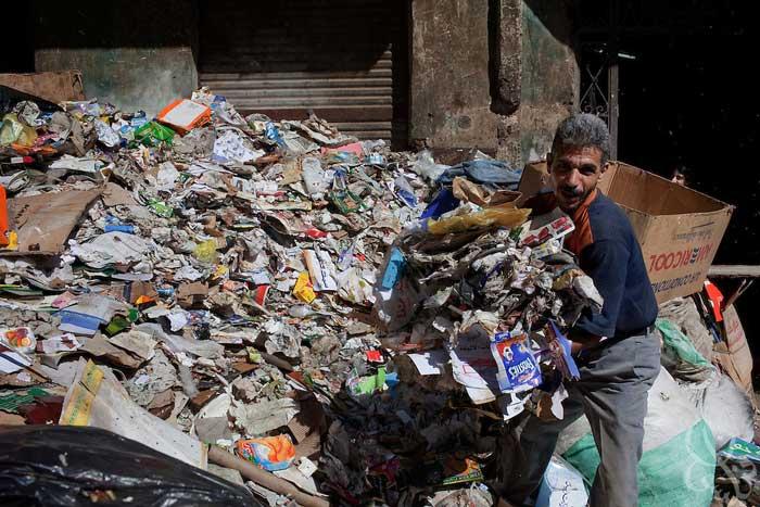 تاریخچه و آماز تولید زباله ایران گارانتی پلاستیک