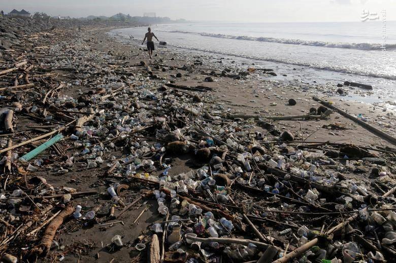 آلودگی اقیانوس پلاستیک