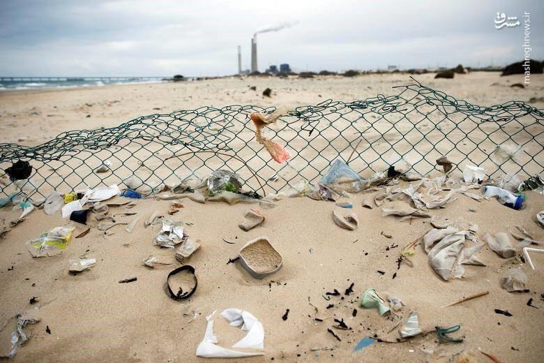 ضایعات پلاستیک دریاها