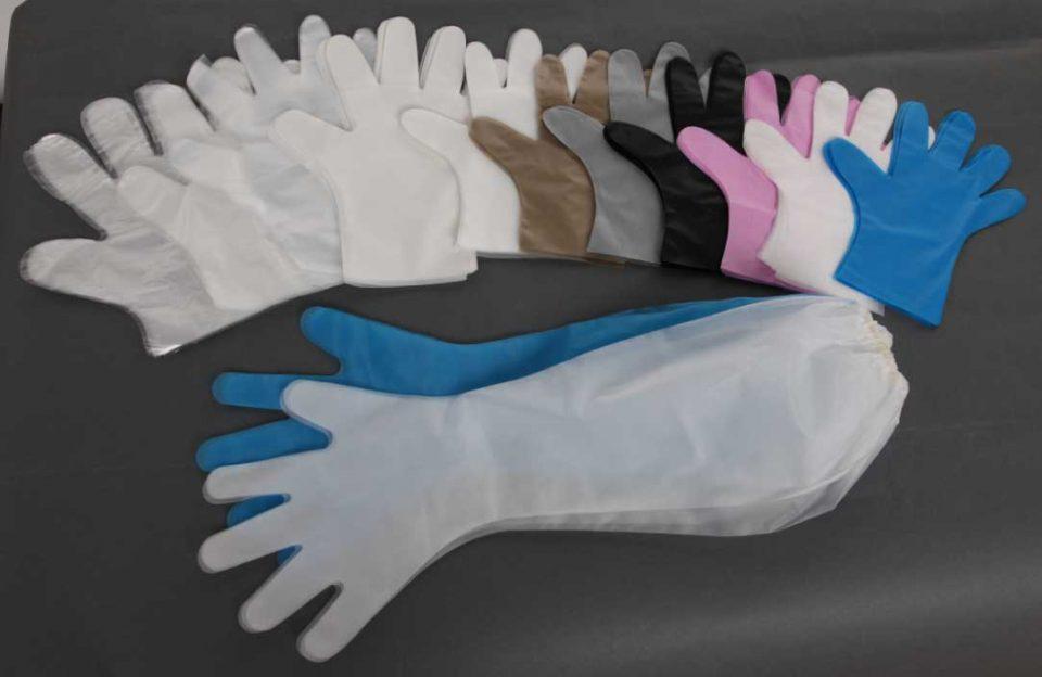 تولید دستکش یکبارمصرف از گرانول پلاستیک پلی اتیلن در ایام کرونا