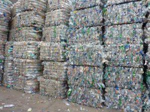 بسته مکعبی ضایعات پلاستیک