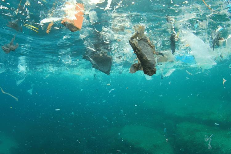 آلودگی اقیانوس ها حاصل از ضایعات پلاستیک