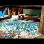 رنده کردن / Shred ، پلاستیکی که تسوط رنده به تکه های بزرگ برش داده شده اند (20 تا 60 میلیمتر). این یک فرآیند سخت (زخمت) است