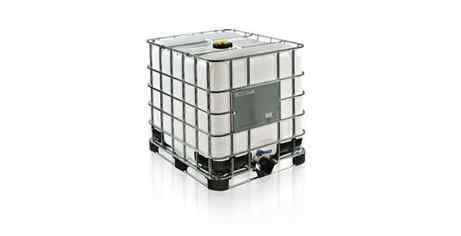 IBCهای محکم، قابل دسته بندی، قابل استفاده مجدد هستند و ظروف همه کاره ای با یک پایه کامل شبیه به پالت (اغلب از جنس فلز) هستند که قابلیت حمل و نقل با جرثقیل چنگکدار یا جک مکانیکی را دارند