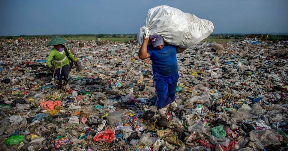 زباله های پلاستیکی کیلویی چند