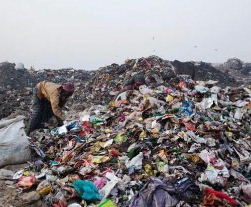 ضایعات پلاستیک بادی